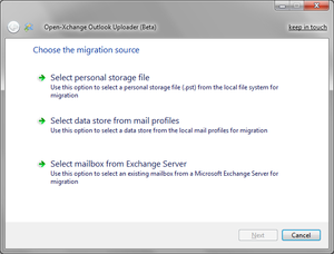 OX Outlook Uploader - Open-Xchange