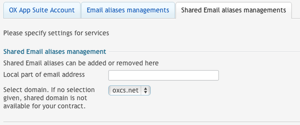OX Cloud Service Shared Email aliases.png