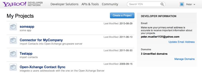 Yahoo Bundles - Open-Xchange